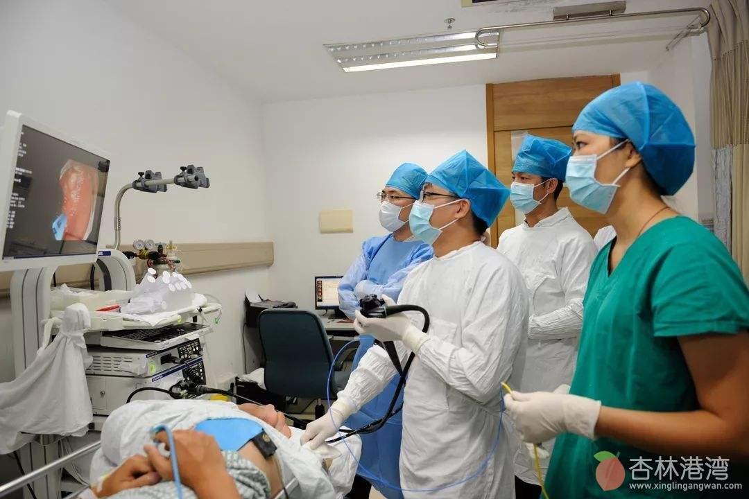 胃肠镜检查麻醉医师保驾护航